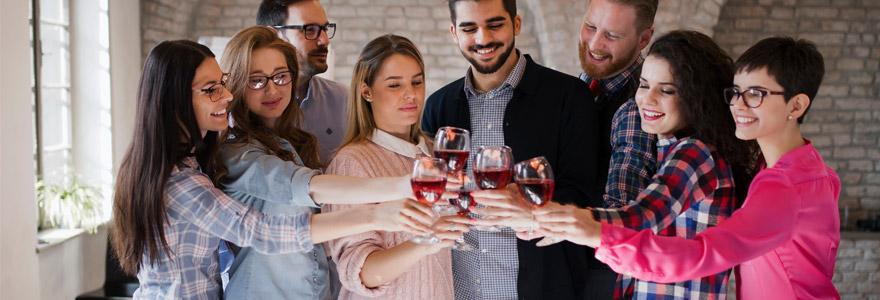 Team building  soirées pour entreprises